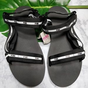 Victoria's Secret PINK Strappy Sporty Sandals L